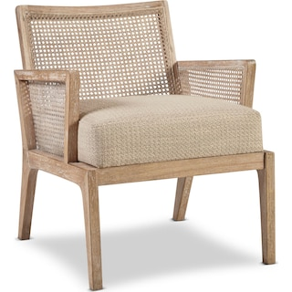 Amelia Cane Accent Chair