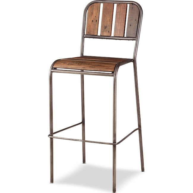 Accent and Occasional Furniture - Atwood Bar Stool - Brown