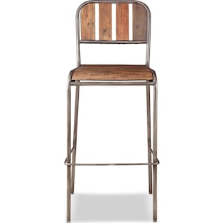 Atwood Bar Stool - Brown