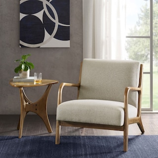 Finn Accent Chair - Cream