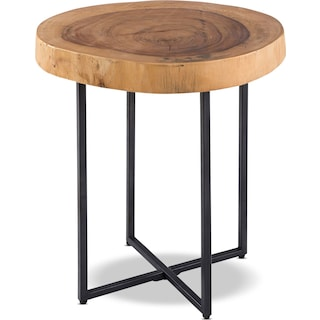 Natural Arcadia End Table