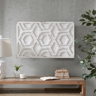Ralston Wall Art - White