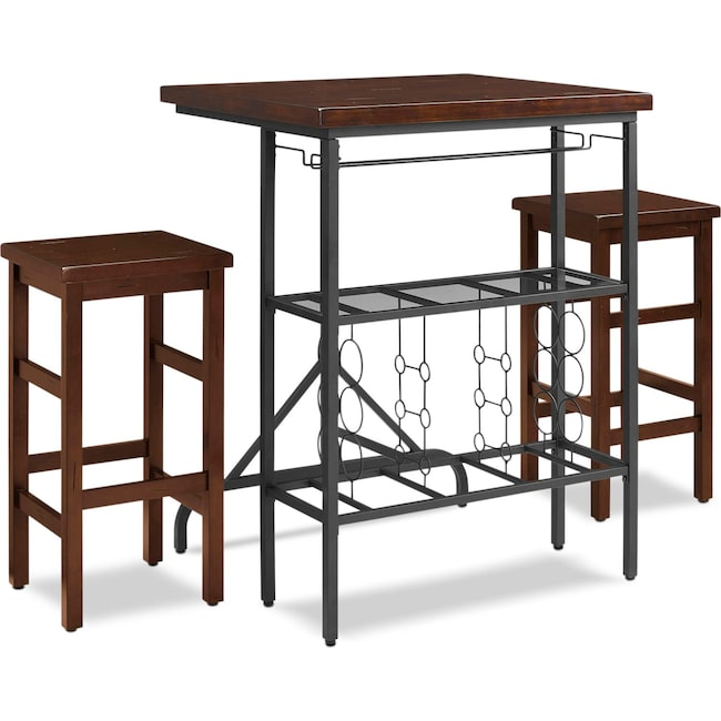 Dining Room Furniture - Sofia Dining Table and 2 Chairs