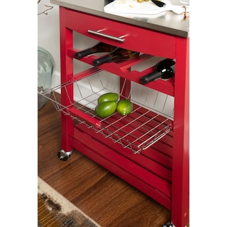 Avon Stainless Steel Kitchen Cart
