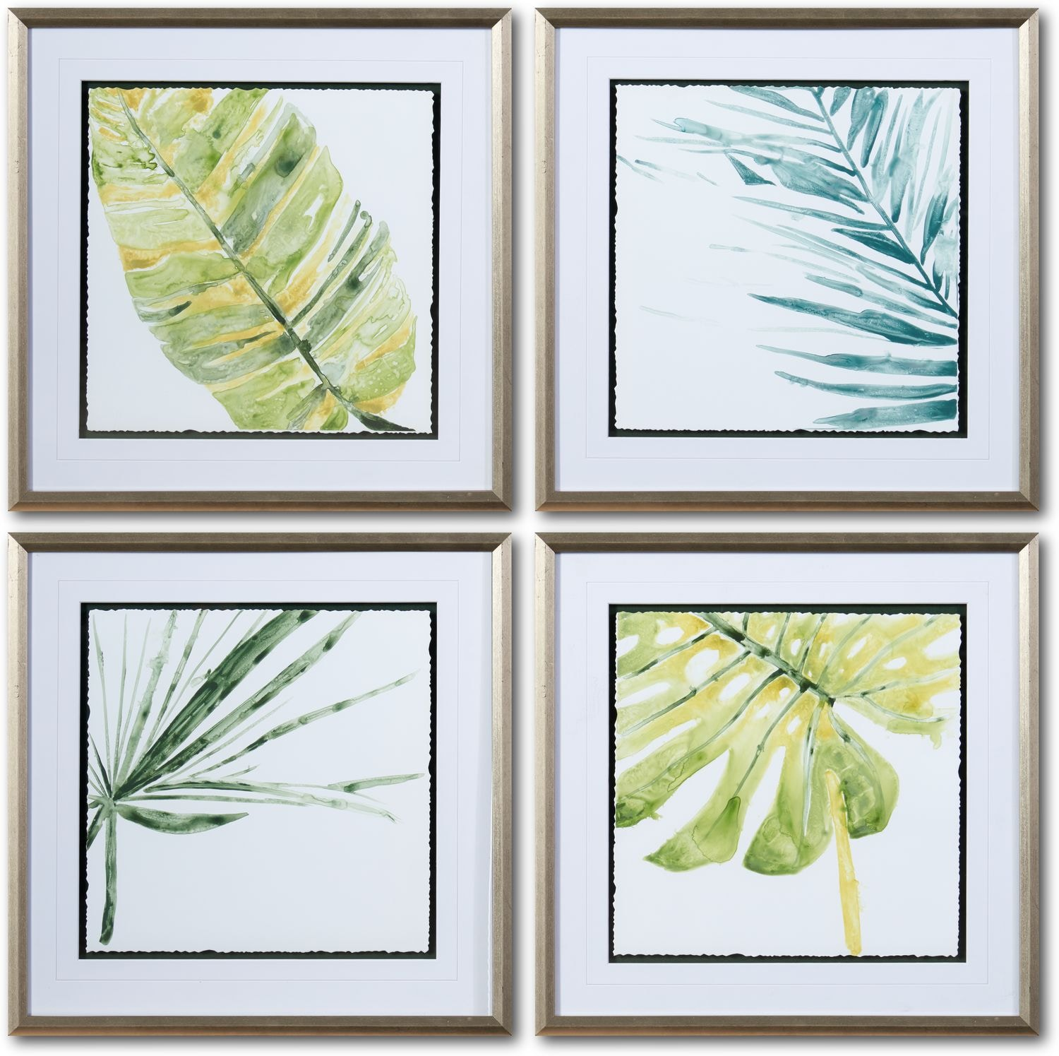 Home Accessories - Verdant 4-Piece Wall Art