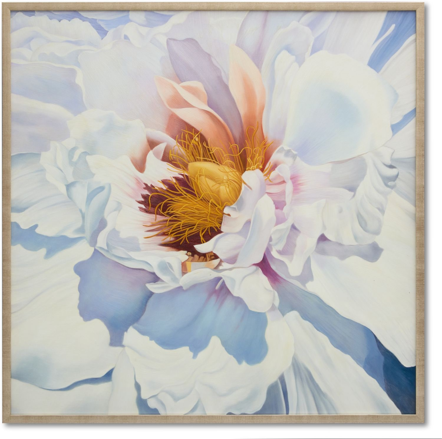 Home Accessories - Snow Flower Wall Art