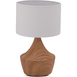 Wood Table Lamp - Natural