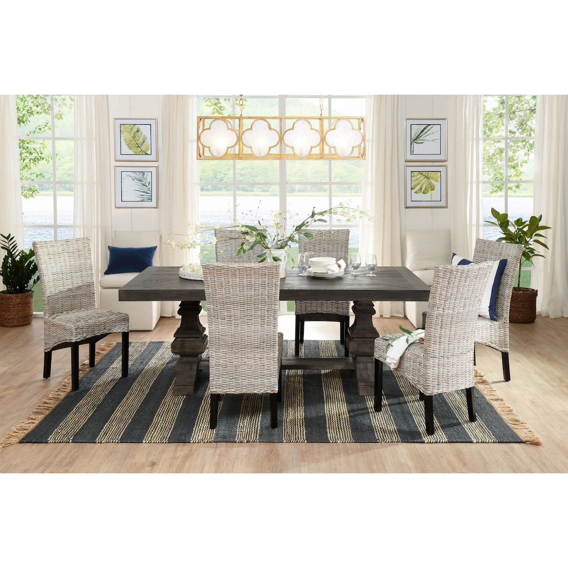 Lancaster 104 Dining Table Value