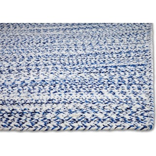 Braided Area Rug - Blue