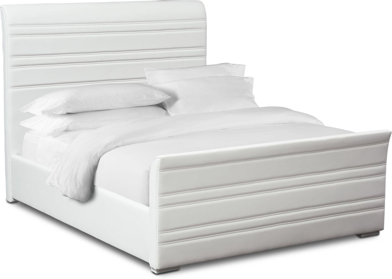 Bedroom Furniture - Allori Upholstered Bed