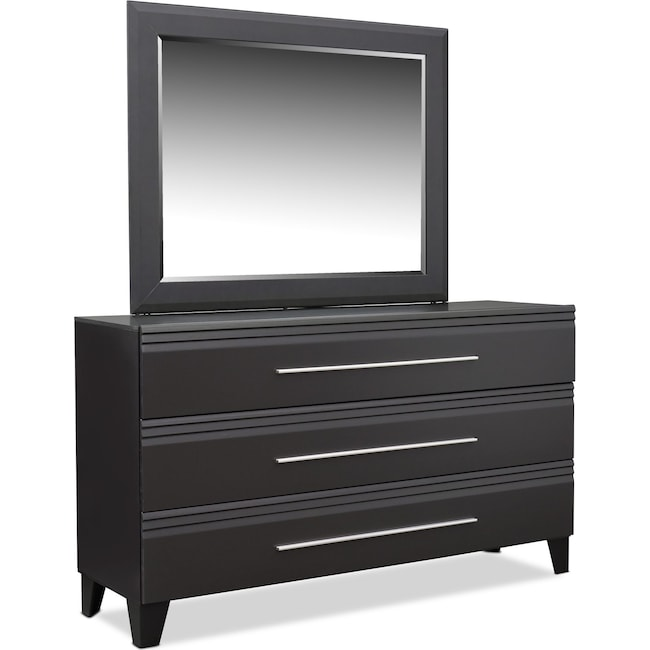 Bedroom Furniture - Allori Dresser and Mirror