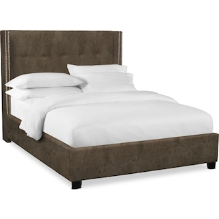"Carter 56"" Upholstered Shelter Bed"