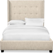 Carter Upholstered Shelter Bed