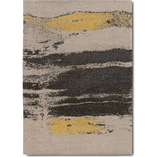 Rugs - Flat Woven Area Rug - Cream