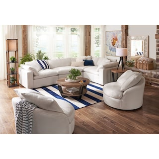 Plush 4-Piece Sectional