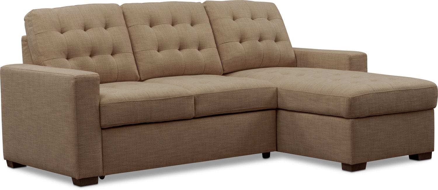 online store 1276d 51621 Chatman 2-Piece Sleeper Sectional with Chaise