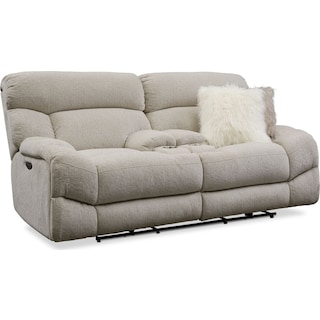 Wave Dual Power Reclining Loveseat