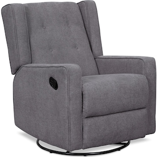 Adeline Manual Reclining Swivel Chair