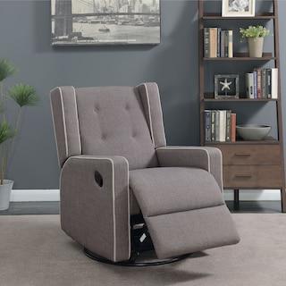 Adeline Manual Reclining Swivel Chair