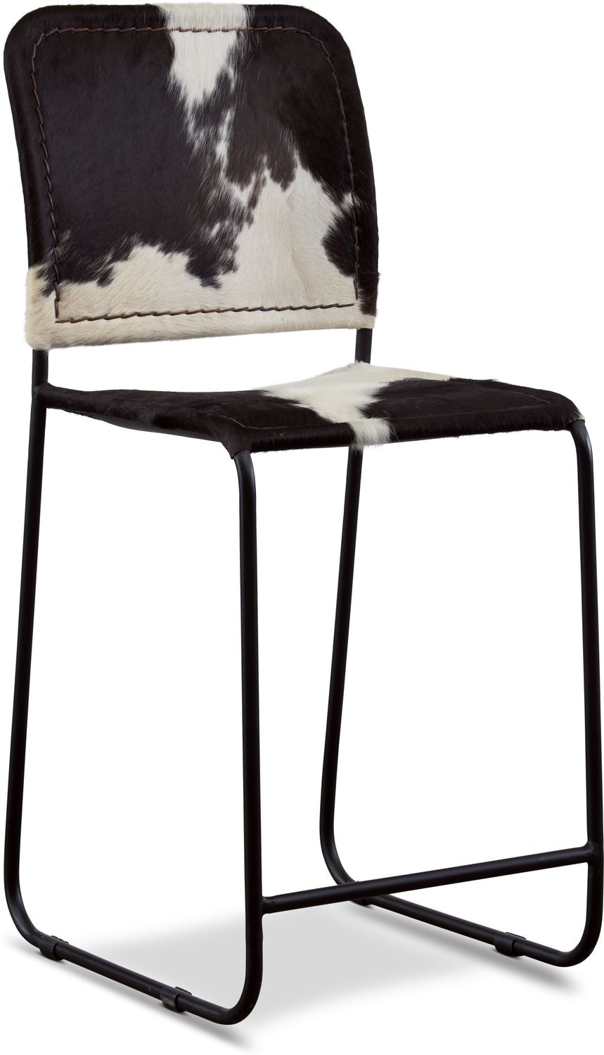 Dining Room Furniture - Avalon Cowhide Counter Stool