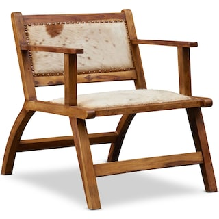 Nevis Cowhide Accent Chair