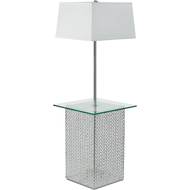Home Accessories - Crystal Floor Lamp