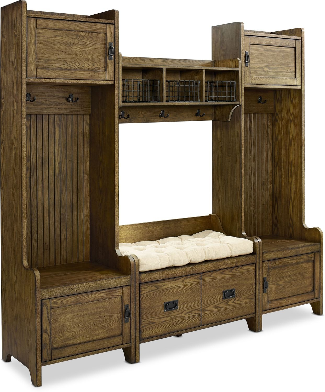 Hall_Entrance Furniture - Landon 4-Piece Entryway Set