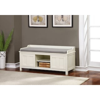 Fullerton Storage Bench