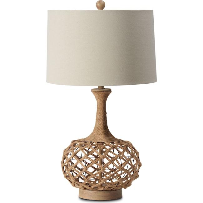 Home Accessories - Myla Hemp Table Lamp