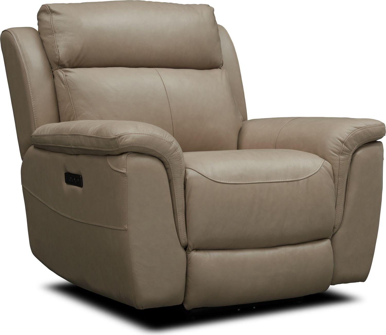 Living Room Furniture - Brooklyn Dual-Power Recliner