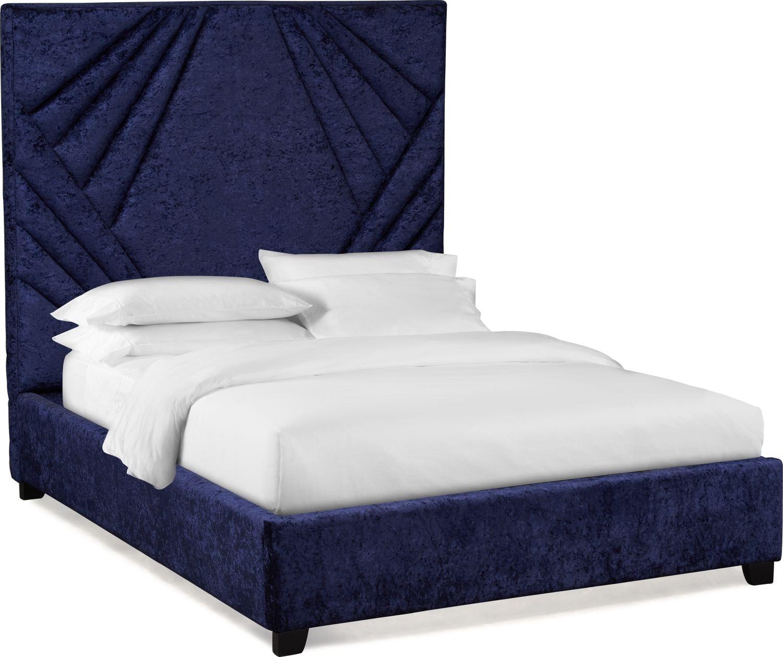Bedroom Furniture - Kiera Upholstered Gem Bed