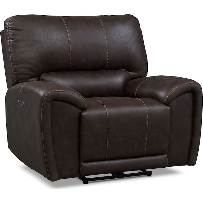 Living Room Furniture - Gallant Dual-Power Recliner