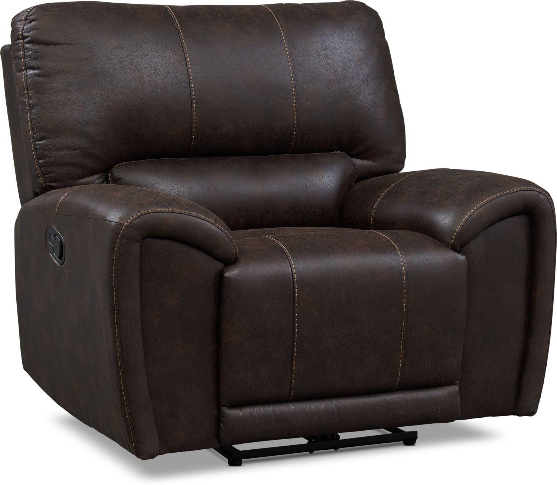 Living Room Furniture - Gallant Manual Recliner