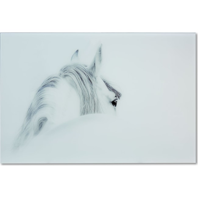 Home Accessories - Blanco Mane Horse Wall Art