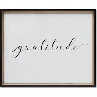 Gratitude Wall Art