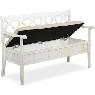 Quincy Storage Bench