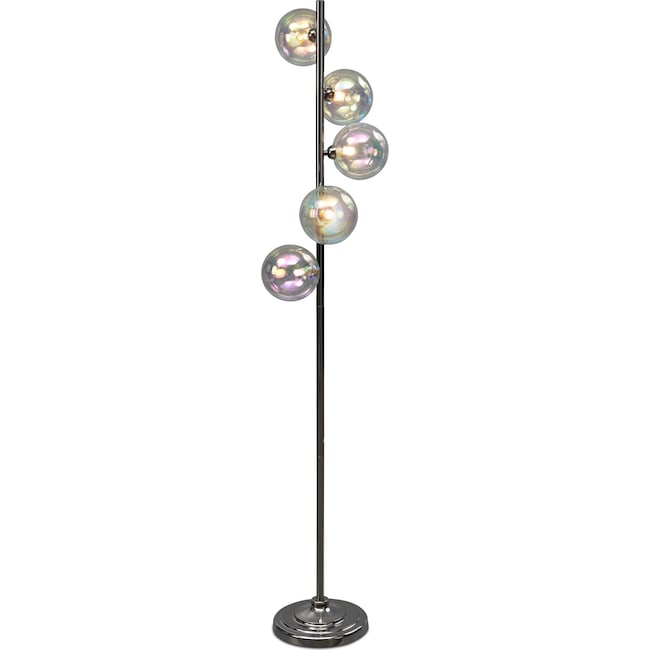 Home Accessories - Bubble Glass Floor Lamp