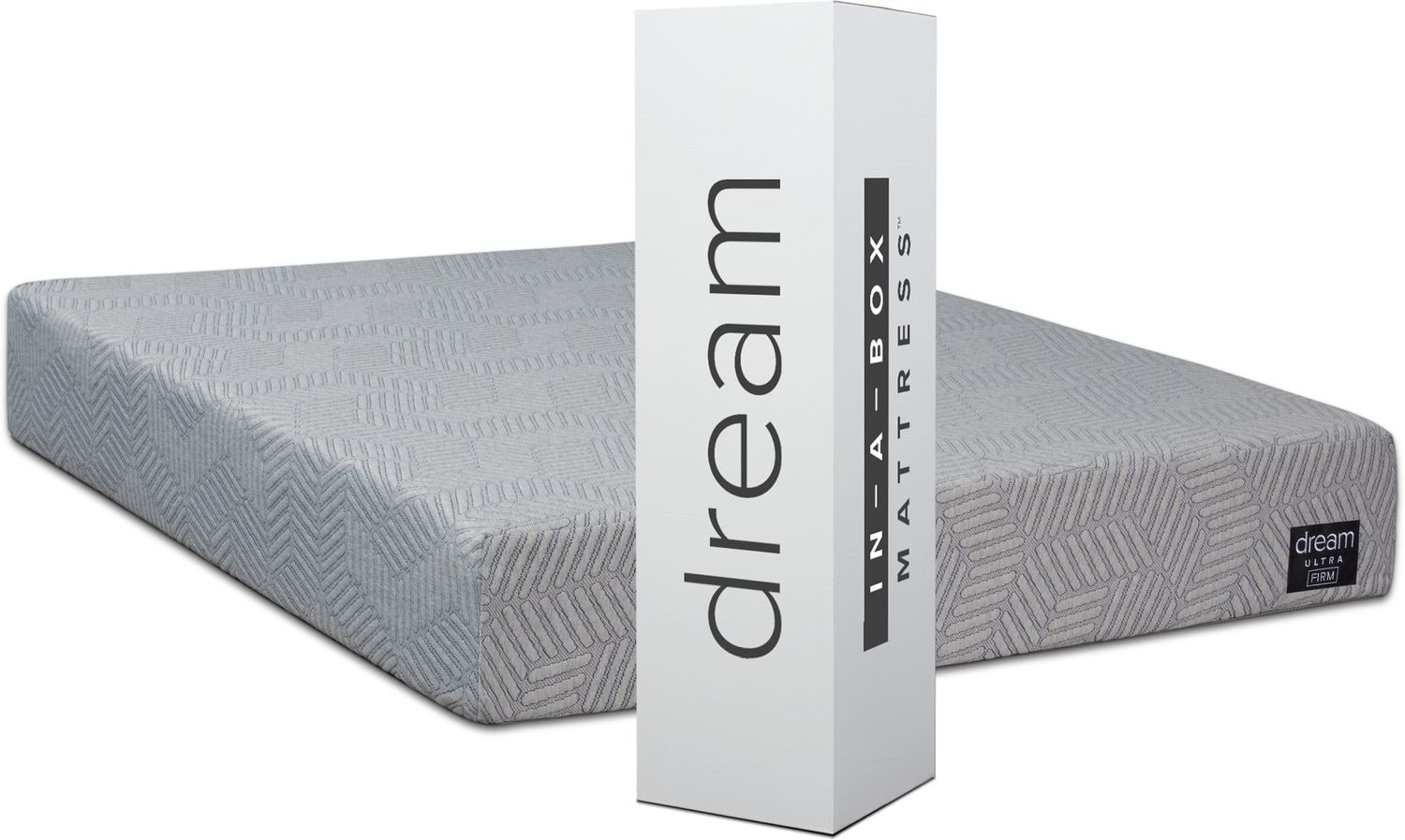 Mattresses and Bedding - Dream-In-A-Box Ultra Firm Full Mattress