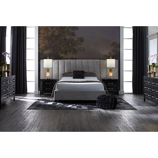 Kiera Upholstered Channel Wall Bed