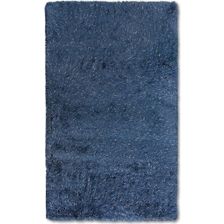 Glam Area Rug - Blue
