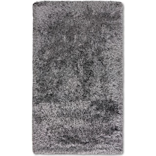 Glam Area Rug - Black