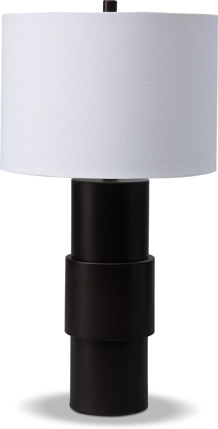 Home Accessories - Oiled Bronze Table Lamp