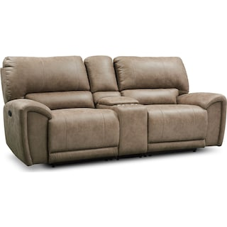 Gallant 3-Piece Manual Reclining Sofa with Console