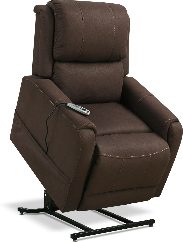 Living Room Furniture - Bozeman Power Lift Recliner