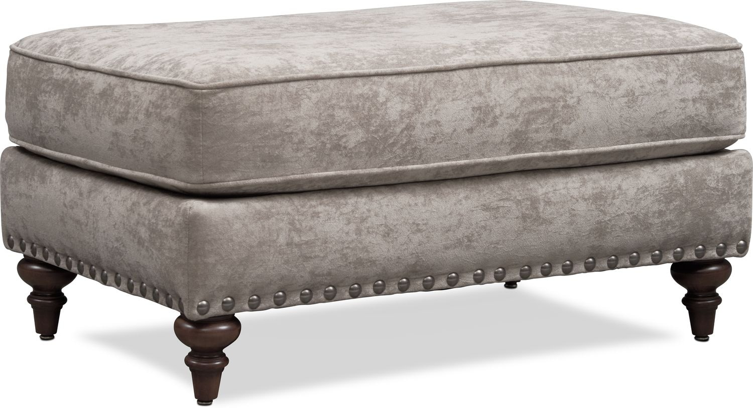 Living Room Furniture - London Ottoman