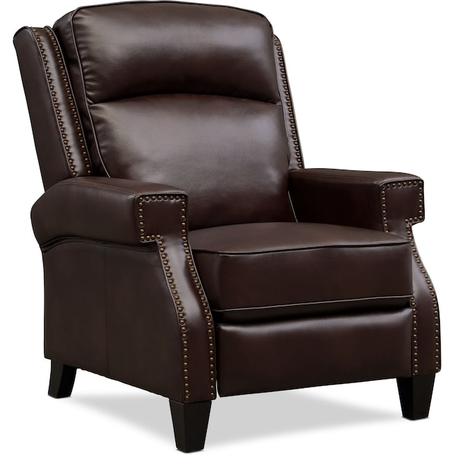 Living Room Furniture - James Pushback Recliner