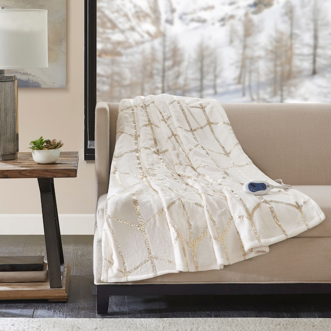 Accent and Occasional Furniture - Cosette Heated Throw