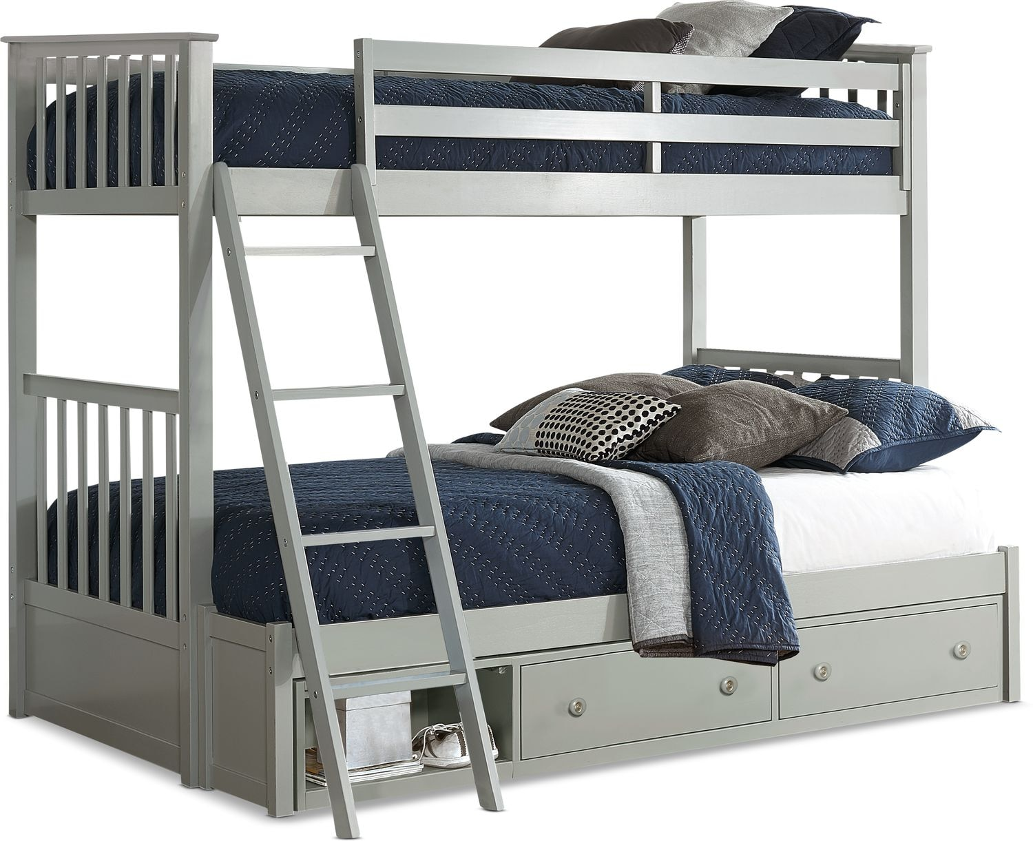 Kids Furniture - Flynn Storage Bunk Bed