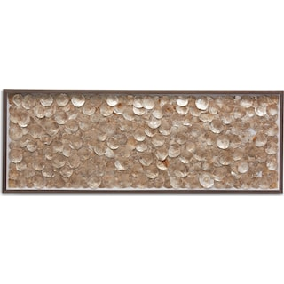 Gold Shells Wall Art
