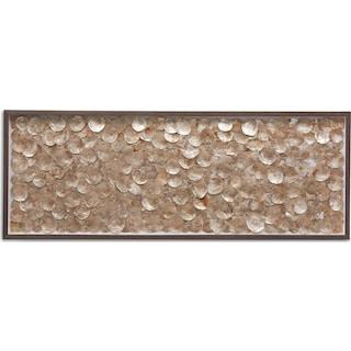 Gold Shells Wall Art